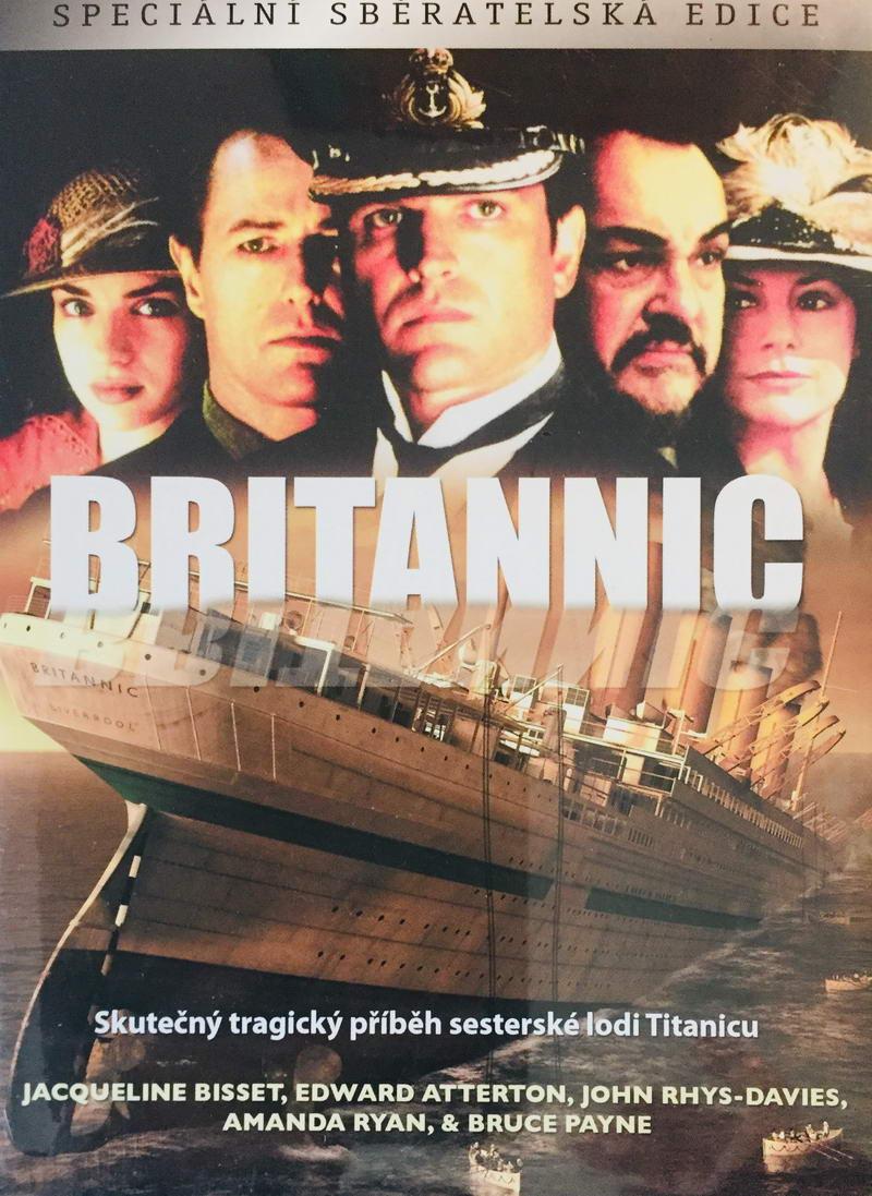 Britannic - Speciální sběratelská edice - DVD /digipack/