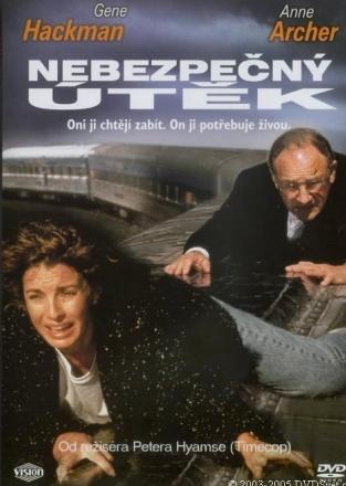 Nebezpečný útěk - DVD /plast/