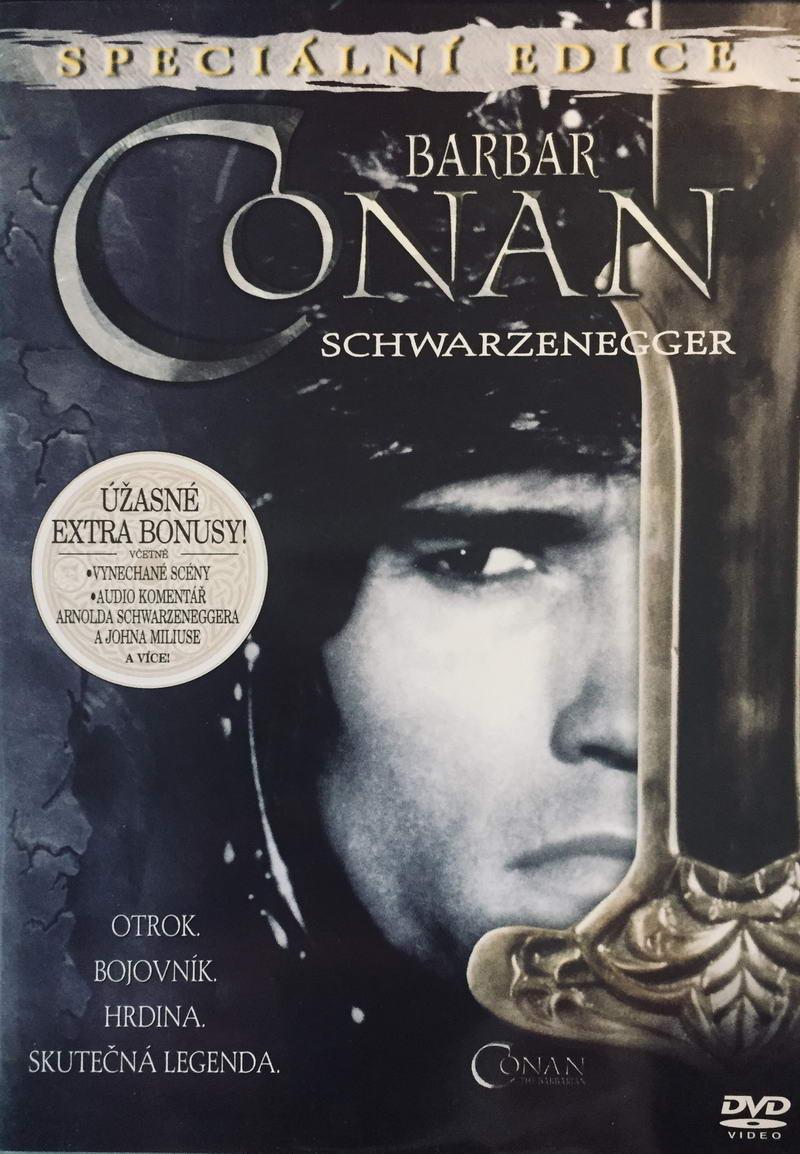 Barbar Conan - Speciální edice - v originálním znění s CZ titulky - DVD /plast/