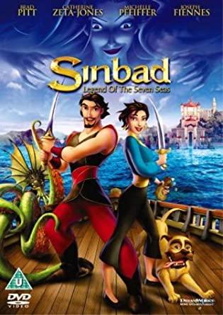 Sinbad - v originálním znění bez CZ titulků - DVD /plast/