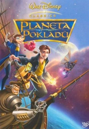 Planeta pokladů - DVD /plast/