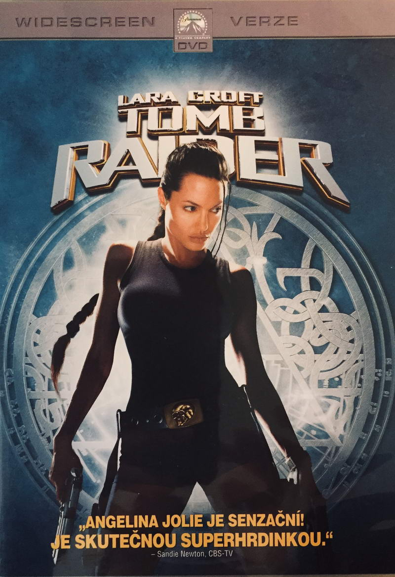Lara Croft - Tomb Raider - DVD /plast/