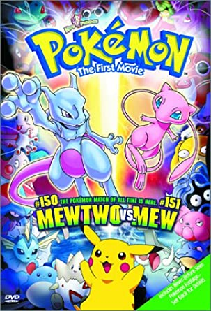 Pokémon - The First Movie - DVD /plast/