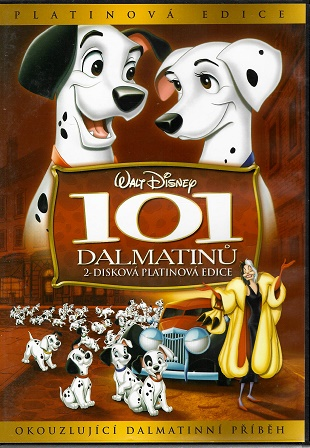 101 dalmatinů. 2-disková platinová edice ) plast ) DVD