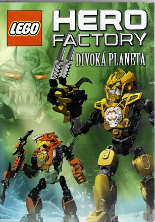 LEGO Hero Factory: Divoká planeta ( plast ) DVD