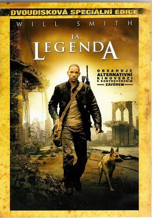 Já, legenda 2-disková speciální edice ( plast ) DVD