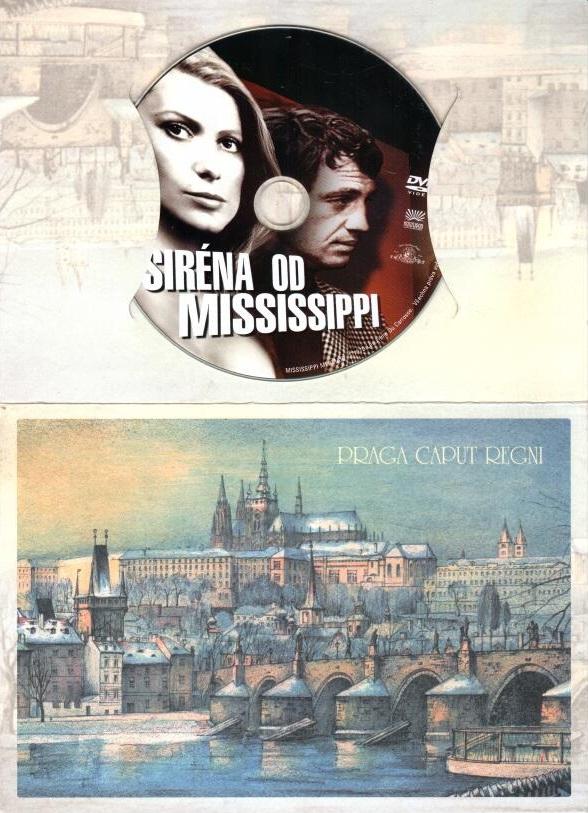 Siréna od Mississippi - DVD dárková obálka