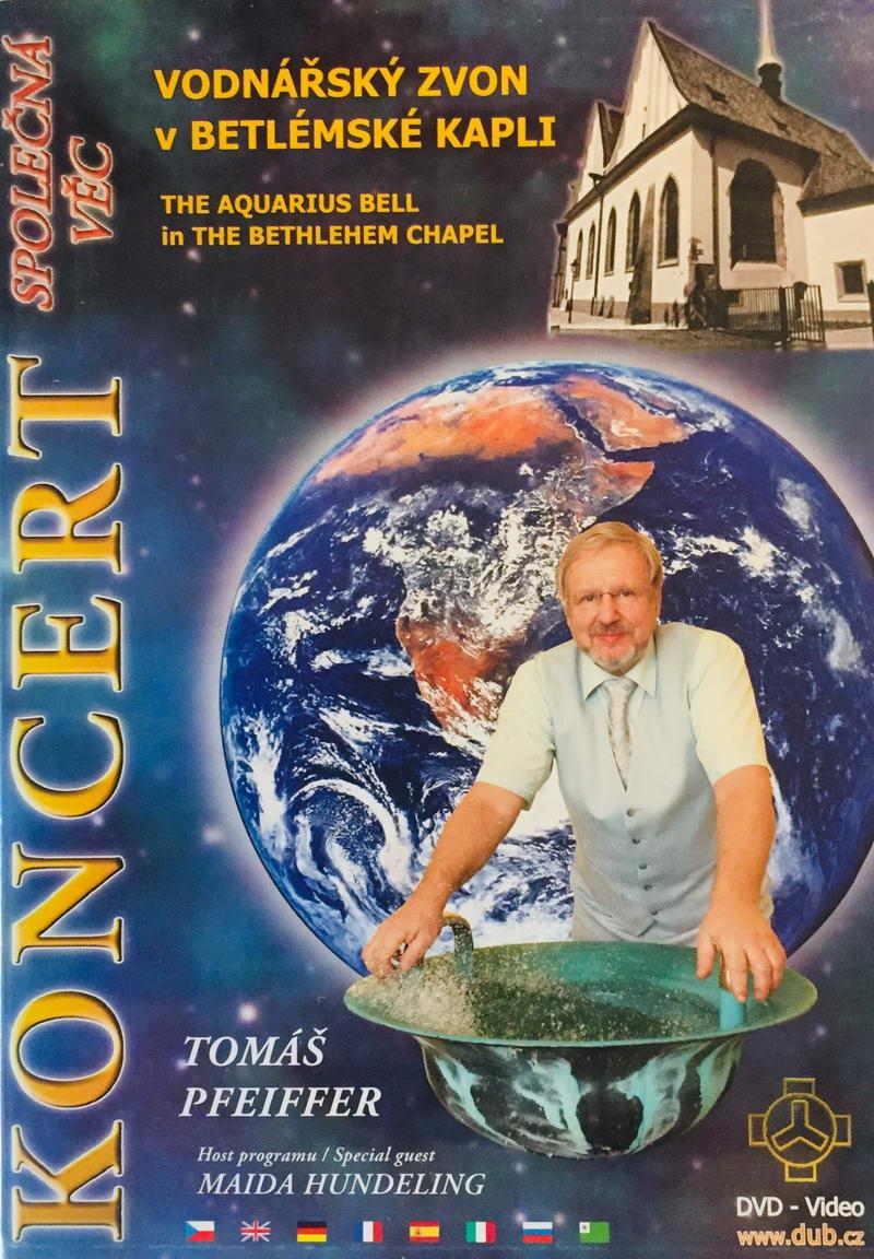 Koncert - Vodnářský zvon v Betlémské kapli - DVD /plast/