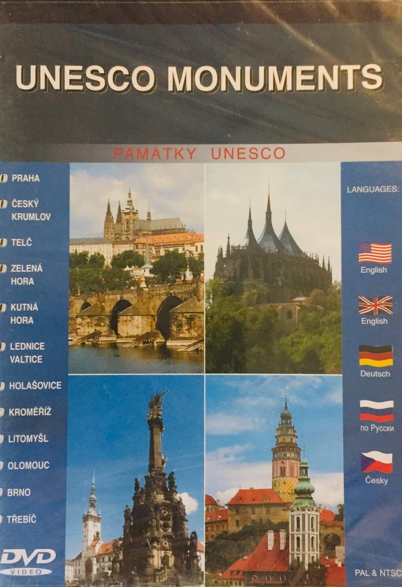Unesco Monuments - Památky Unesco - DVD /plast/
