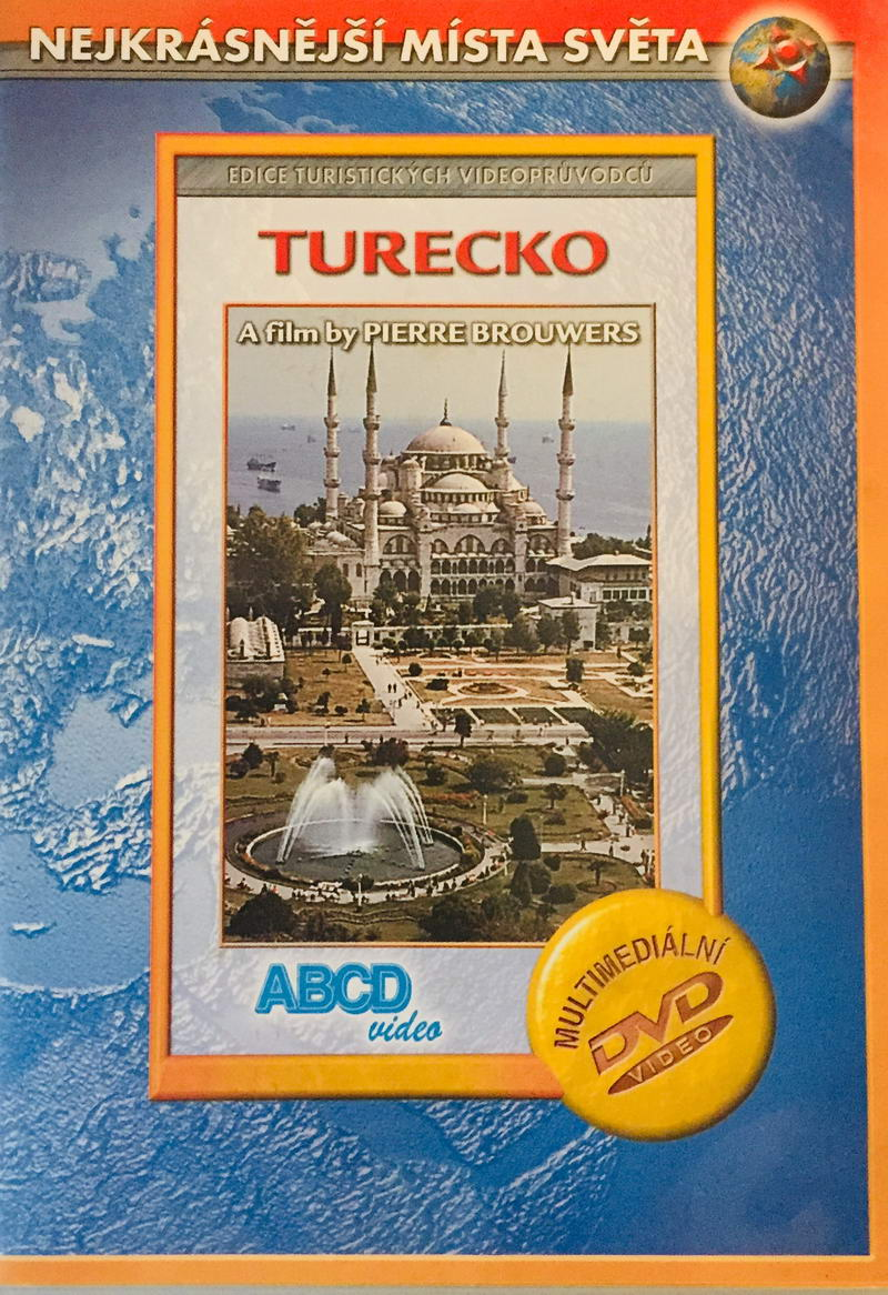 Nejkrásnější místa světa - Turecko - DVD /plast/