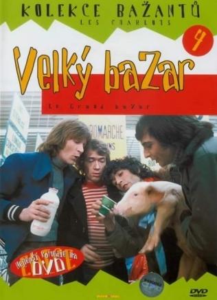 Kolekce bažantů 4 - Velký bazar - DVD /pošetka/