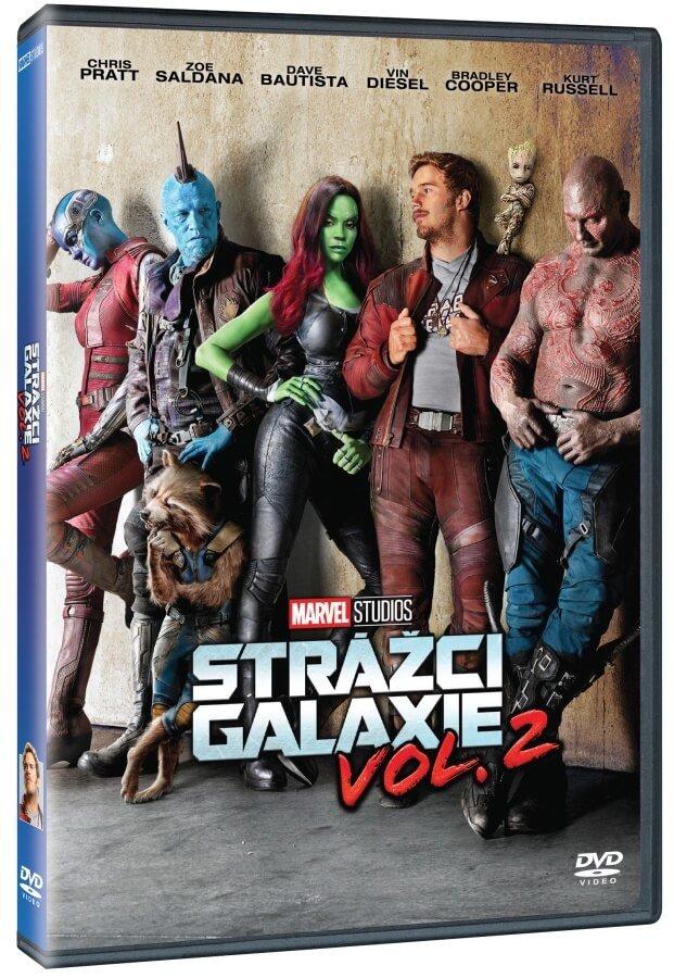 Strážci galaxie - Vol. 2 - DVD /plast/bazarové zboží/