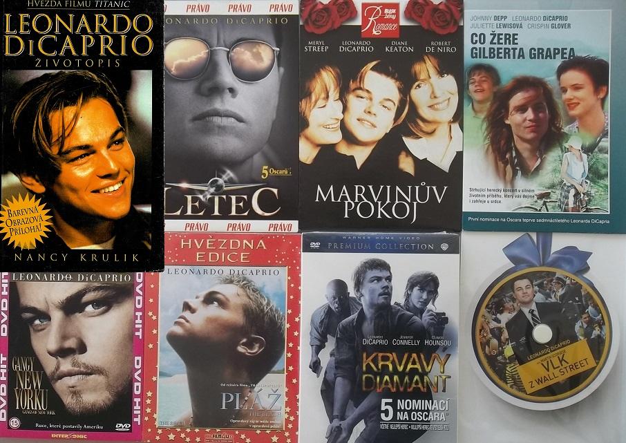 Leonardo Dicaprio - Životopis - Nancy Krulik ( 1x kniha bazarová + 7x DVD )