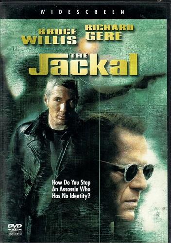 The Jackal / Šakal - v originálním znění s CZ titulky - DVD /plast/bazarové zboží/
