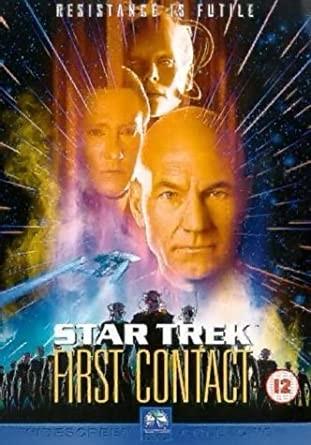 Star Trek - First Contact - DVD /plast/bazarové zboží/