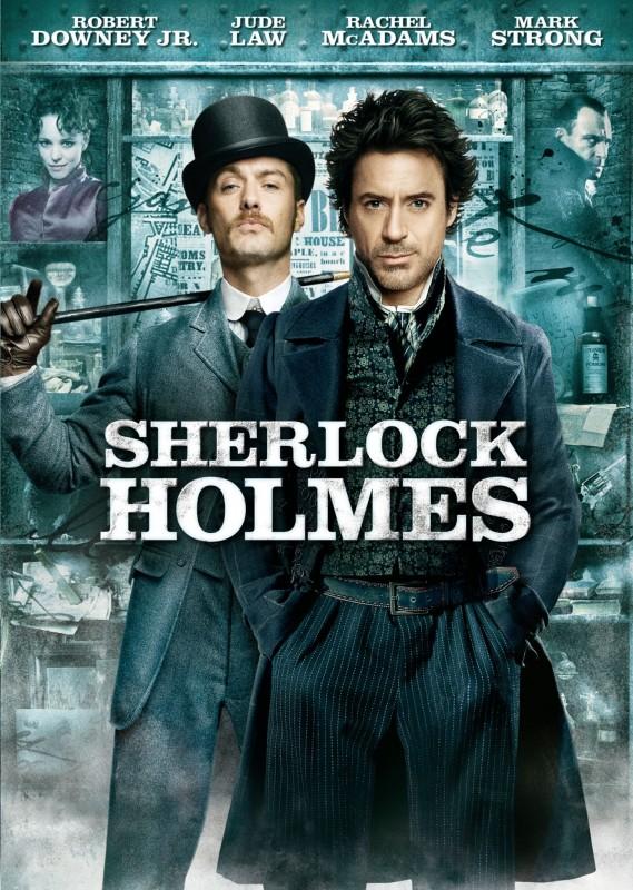 Sherlock Holmes - DVD /plast/bazarové zboží/
