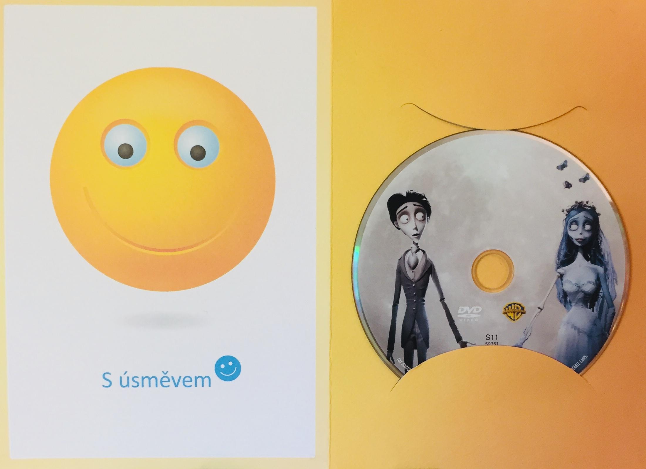 Mrtvá nevěsta Tima Burtona - DVD /dárkový obal/
