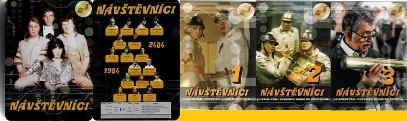 Kolekce Návštěvníci/ Plechový dárkový BOX - 3x DVD Plast