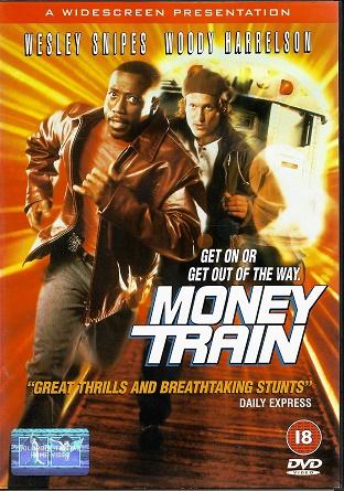 Money Train / Vlak plný peněz ( Originální znění, titulky CZ ) plast DVD