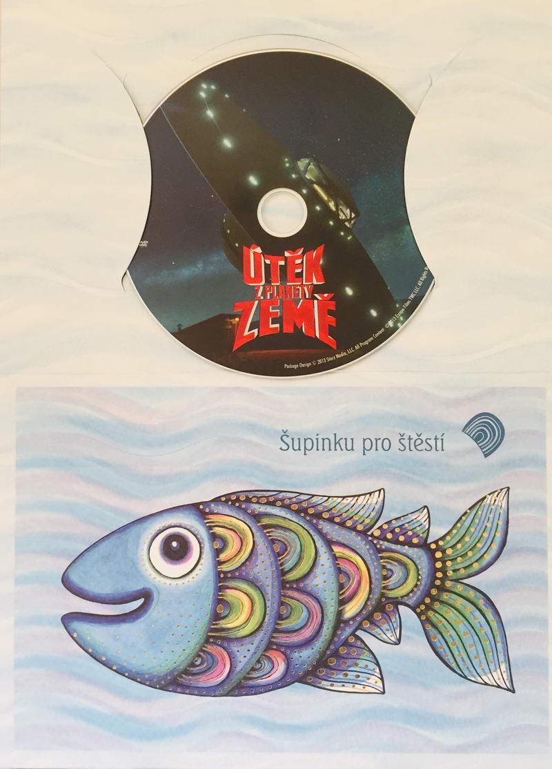 Útěk z planety Země - DVD /dárkový obal/