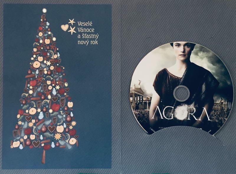 Agora - DVD /dárkový obal/