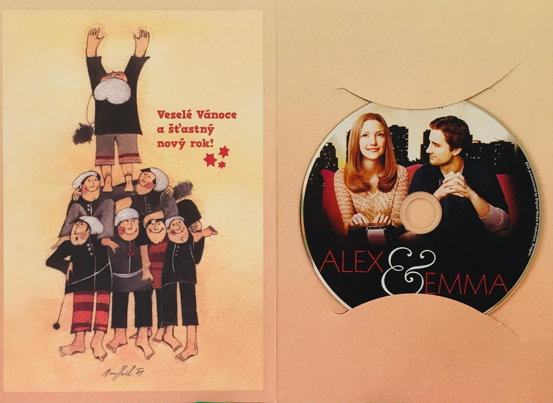 Alex a Emma - DVD /dárkový obal/