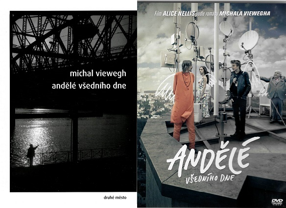Andělé všedního dne - Michal Viewegh ( 1x kniha bazarová + DVD plast )