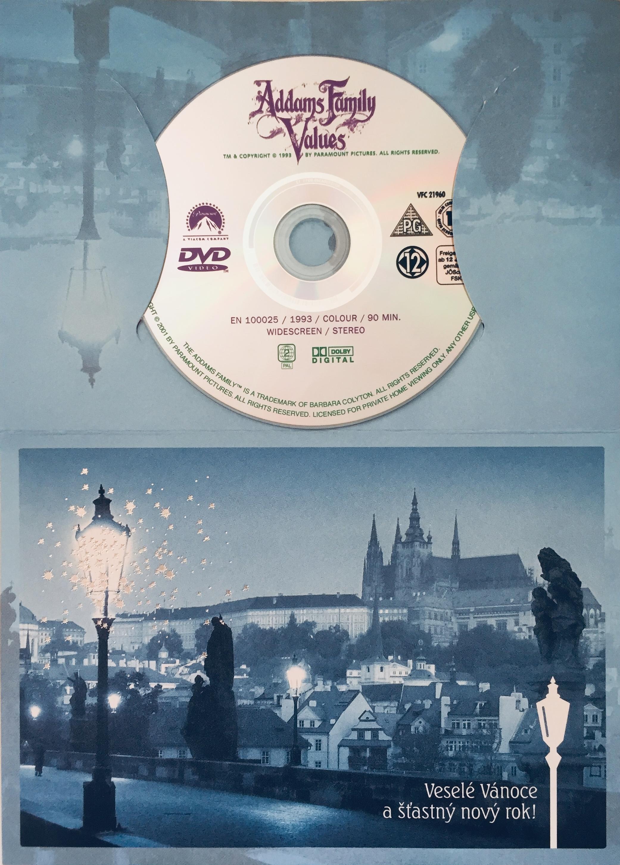 Adams Family Values / Addamsova rodina 2 - DVD /dárkový obal/