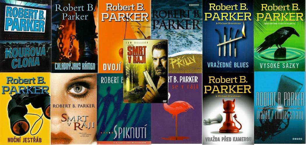 Knižní Kolekce  JESSE STONE - Robert B. Parker ( 12x kniha bazarová + DVD )