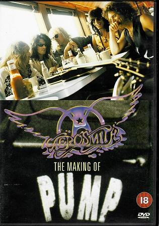 AEROSMITH: The making of PUMP ( Plast ) DVD