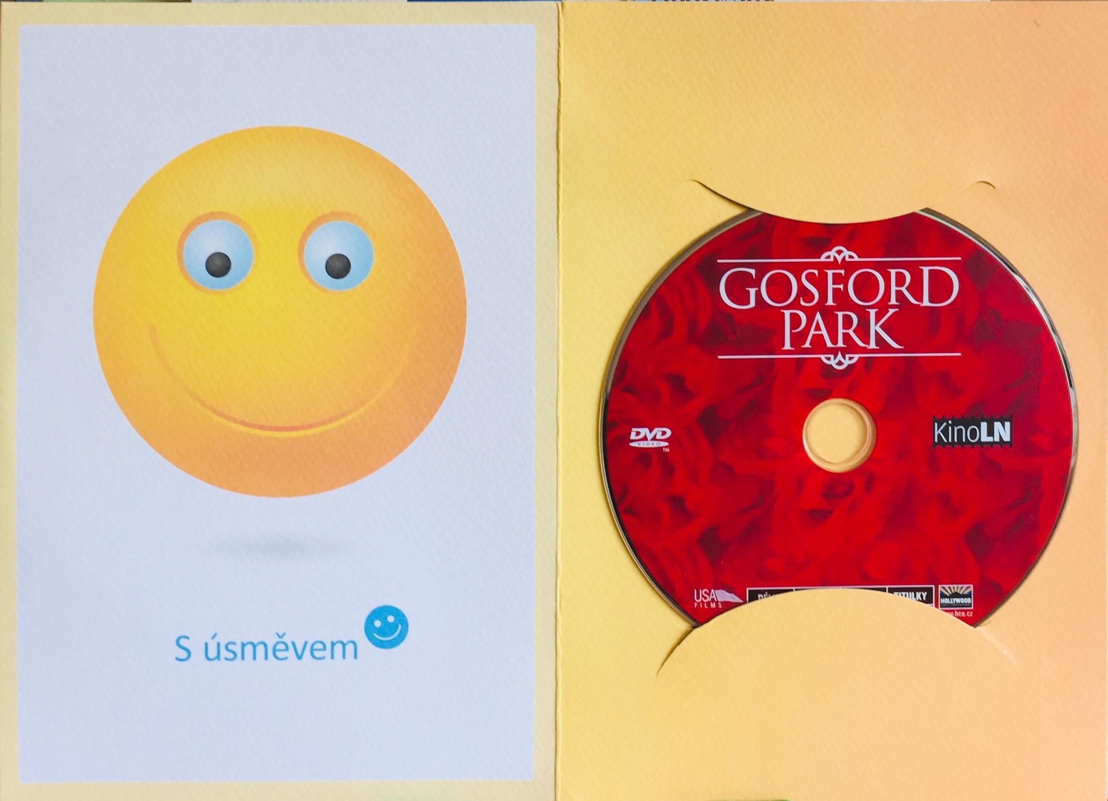 Gosford Park - DVD /dárkový obal/