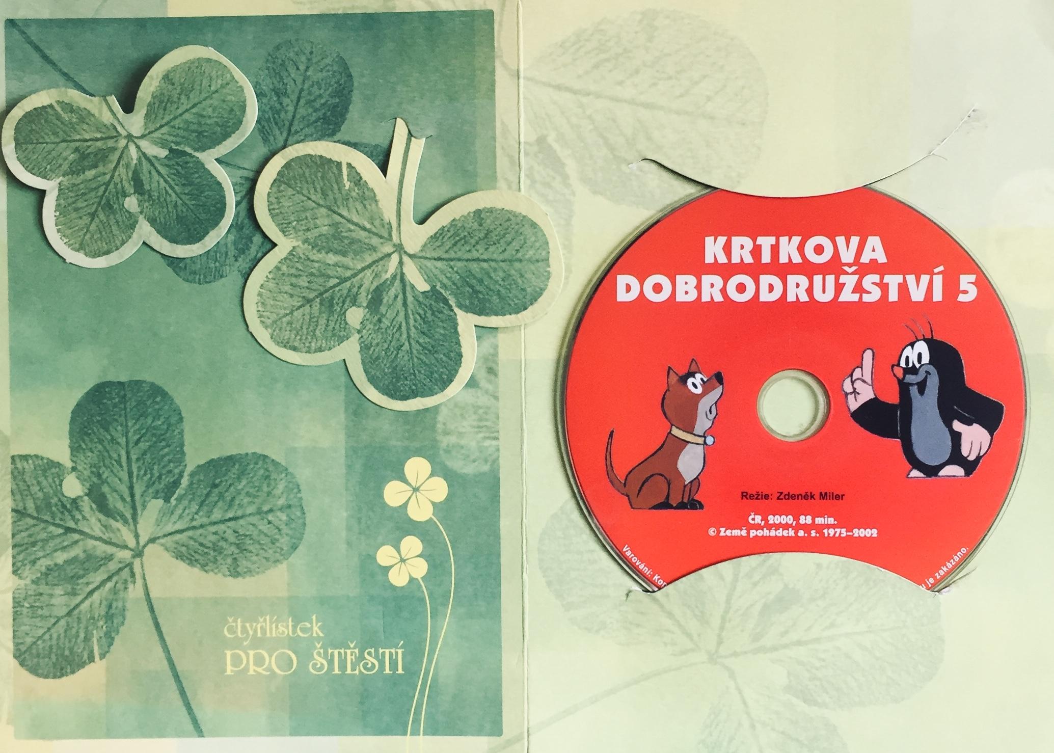 Krtkova dobrodružství 5 - DVD /dárkový obal/
