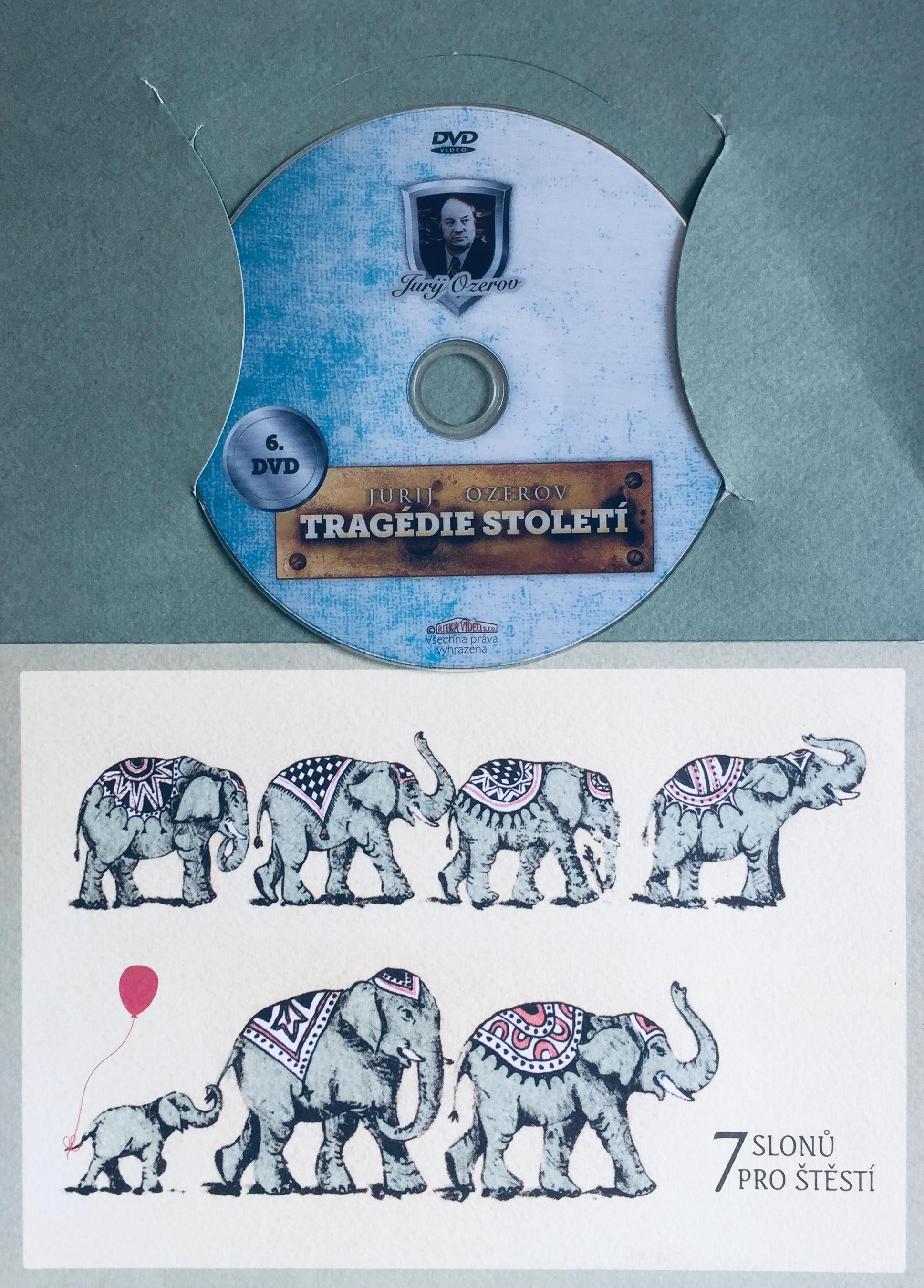 Tragedie století 6. - DVD /dárkový obal/