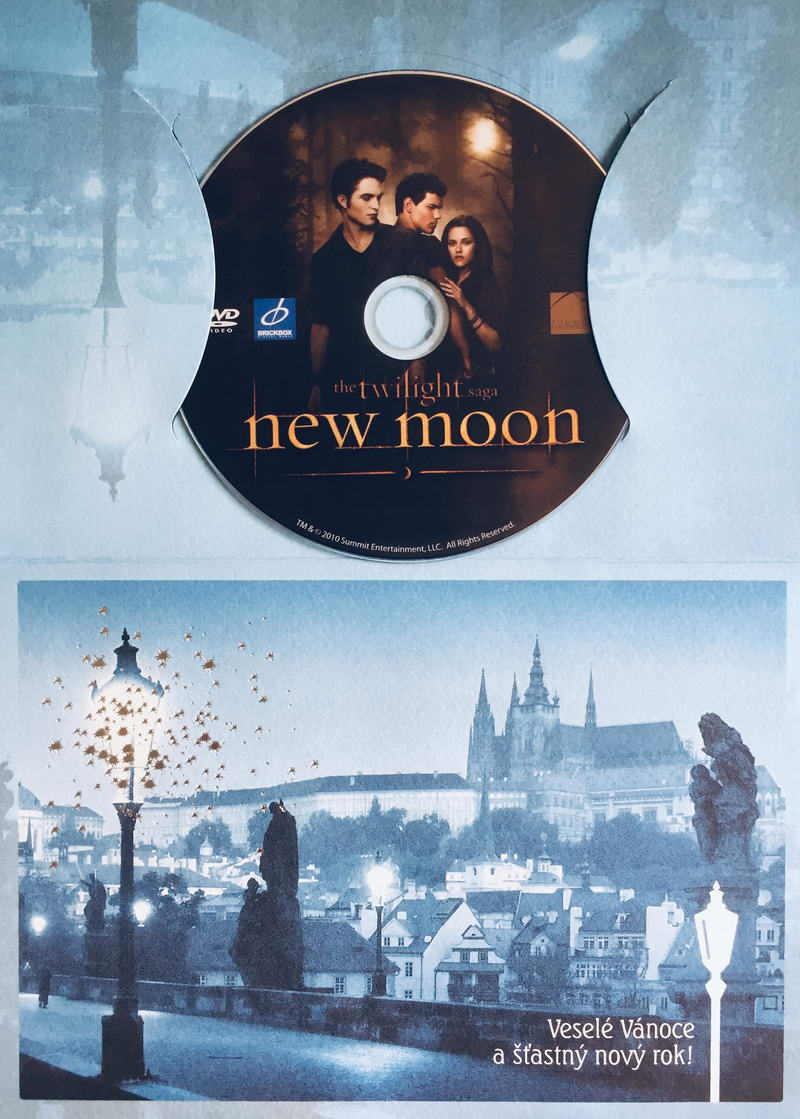 The Twilight saga - New Moon - DVD /dárkový obal/