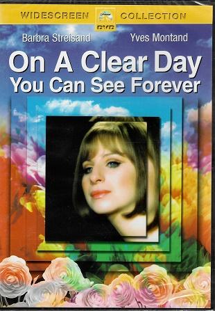 On a Clear Day You Can See Forever / Za jasného dne uvidíš navždy ( Originální znění, titulky CZ ) plast DVD