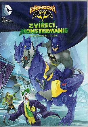 Všemocný Batman: Zvířecí Monstermánie ( plast ) DVD