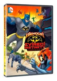 Všemocný Batman: Zvířecí instinkty ( plast ) DVD