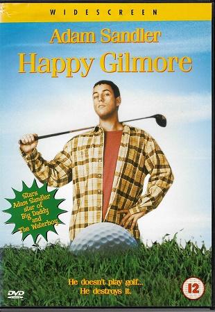 Happy Gilmore / Rivalové ( plast ) DVD - Bazarové zboží
