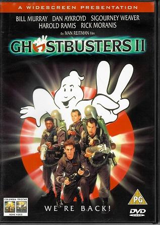 Ghostbusters II / Krotitelé duchů 2 ( Originální znění, titulky CZ ) plast DVD