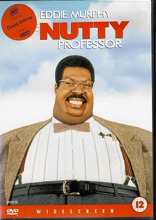 The Nutty Professor / Zamilovaný profesor / český dabing ( plast ) DVD