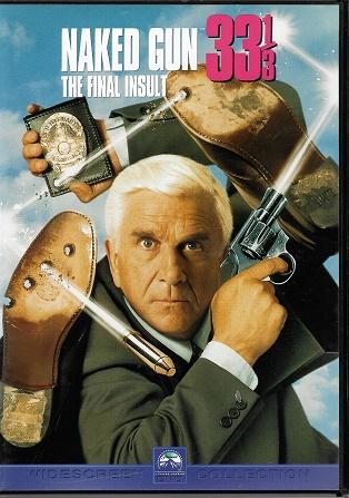 Naked Gun 33 1/3: The Final Insult / Bláznivá střela 33 a 1/3: Poslední trapas ( Originální znění, titulky CZ ) plast DVD