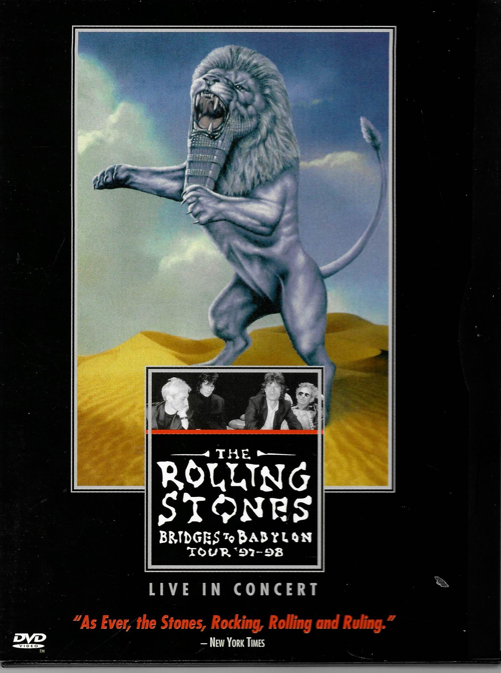 The Rolling Stones -Bridges To Babylon tour 97-98  - DVD plast /digipack