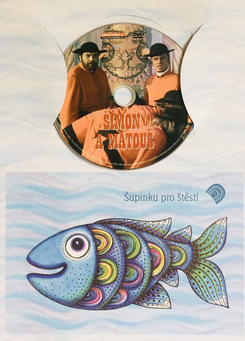 Šimon a Matouš - DVD /dárkový obal/