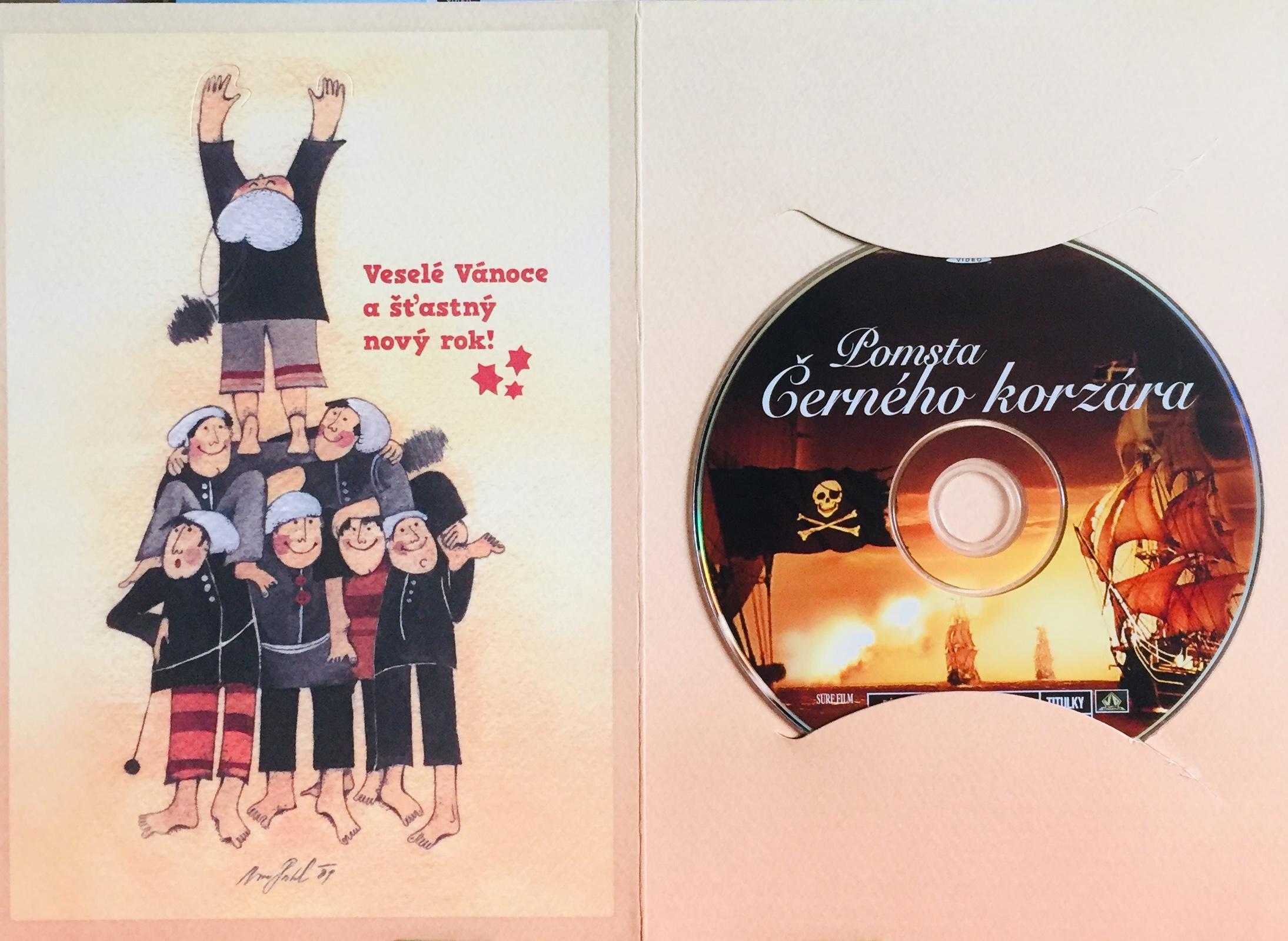 Pomsta Černého korzára - DVD /dárkový obal/