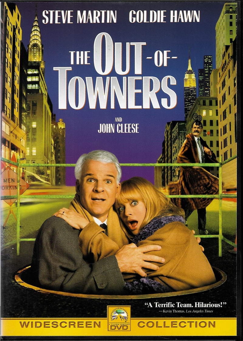 The out of towners ( Burani ve mestě ) - DVD plast