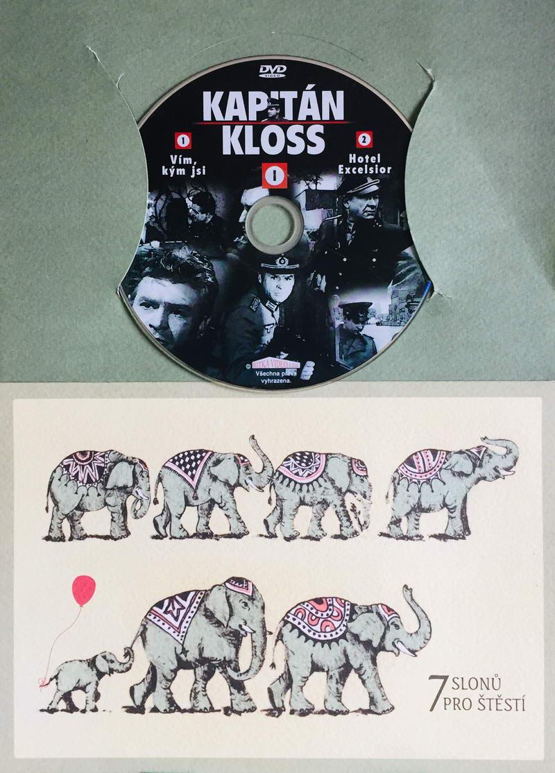 Kapitán Kloss I - 1.-2.díl - DVD /dárkový obal/