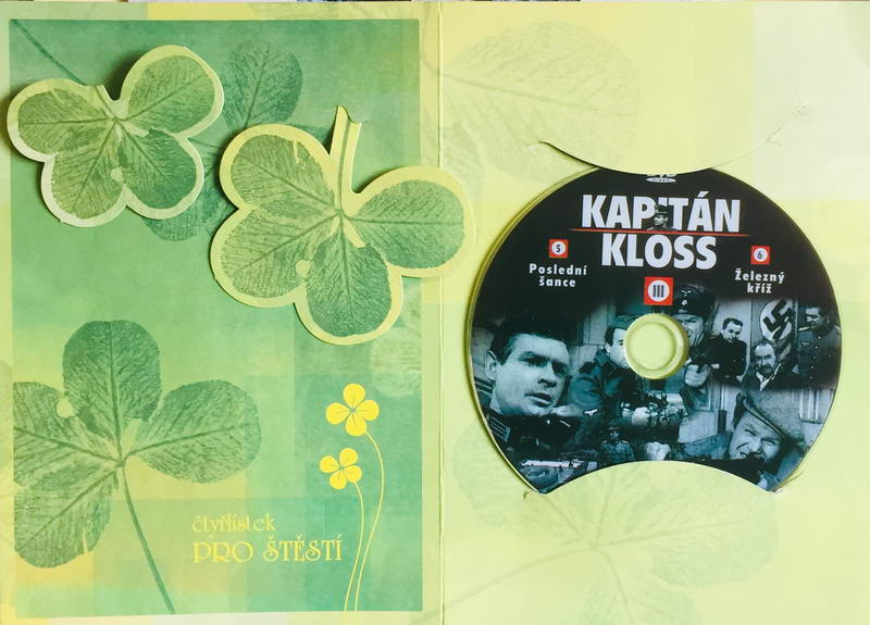 Kapitán Kloss III - 5.-6.díl - DVD /dárkový obal/