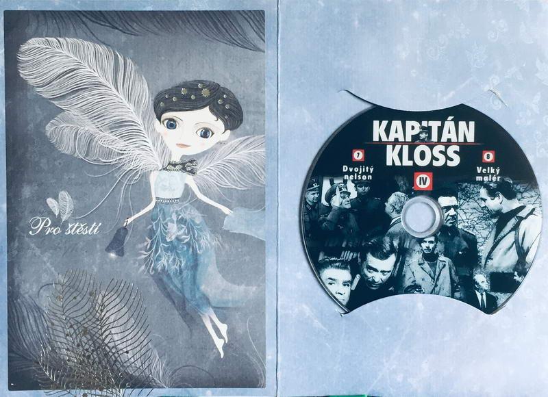 Kapitán Kloss IV - 7.-8.díl - DVD /dárkový obal/