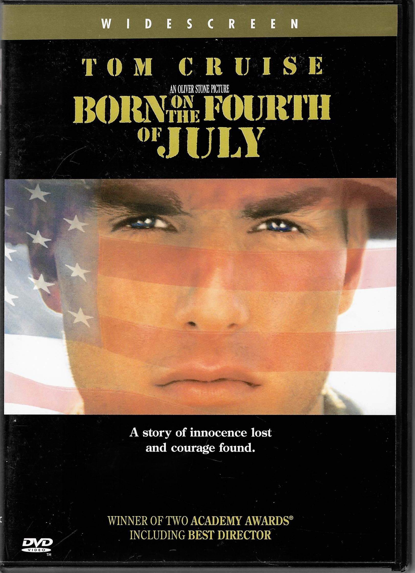 Born on the Fourth of July ( Narozen 4. července) - DVD plast