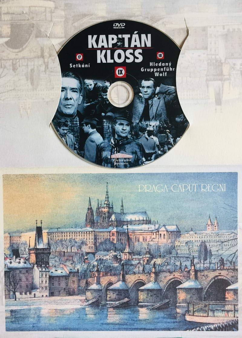 Kapitán Kloss IX - 17.-18.díl - DVD /dárkový obal/